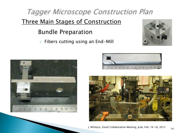 Tagger Microscope Construction Plan