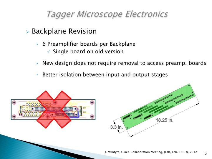 Tagger Microscope Electronics