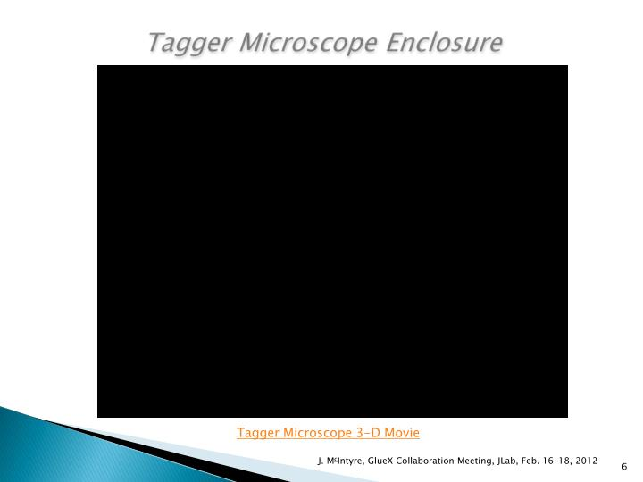 Tagger Microscope Enclosure