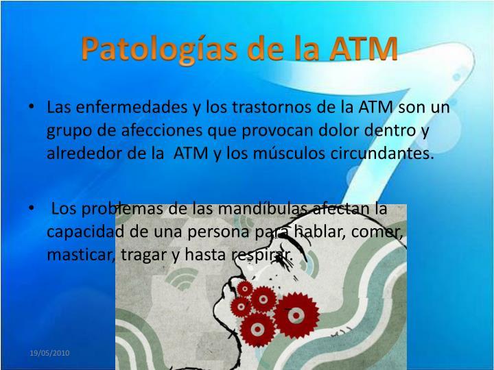 Patologías de la ATM