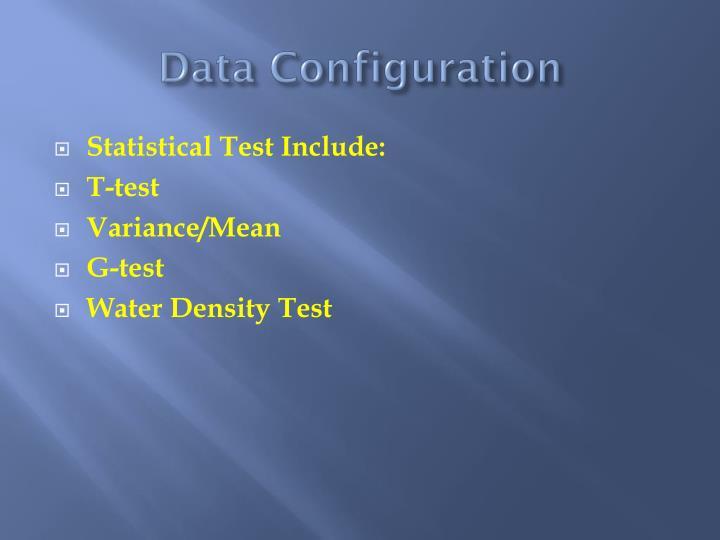 Data Configuration