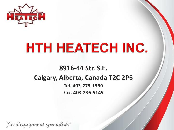 Hth heatech inc