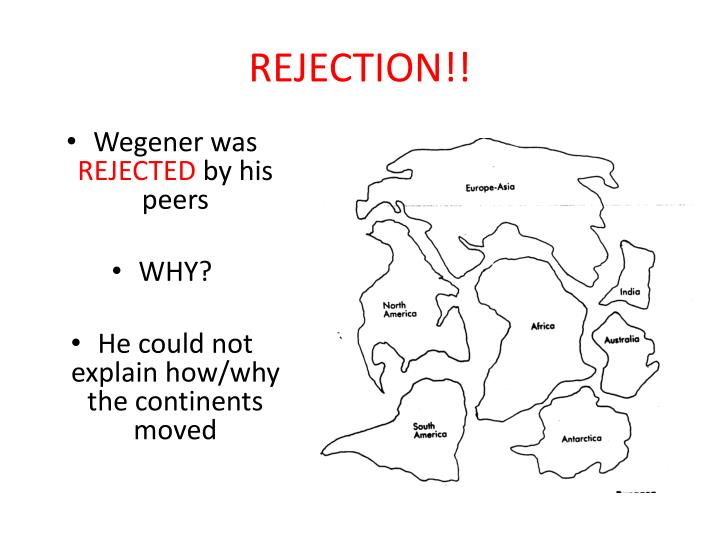 REJECTION!!