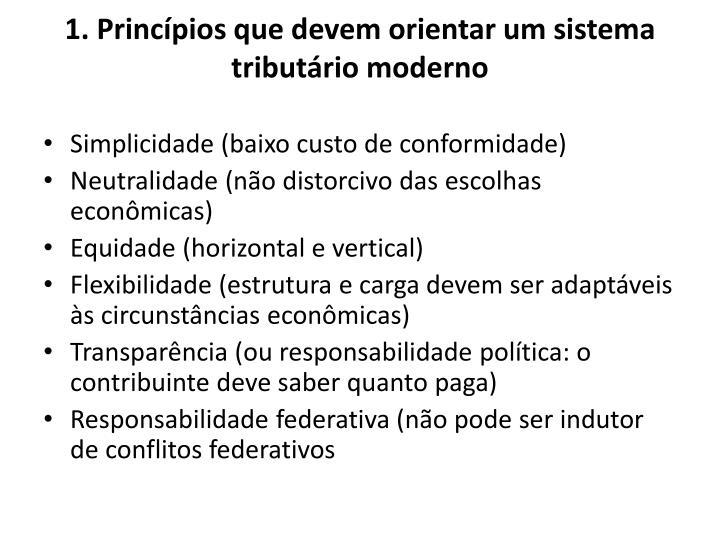 1. Princípios