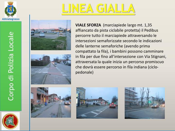 LINEA GIALLA