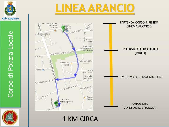 LINEA ARANCIO