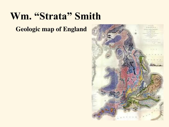 "Wm. ""Strata"" Smith"