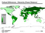 cultural differences hierarchy power distance