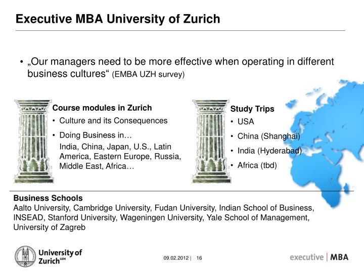 Executive MBA University