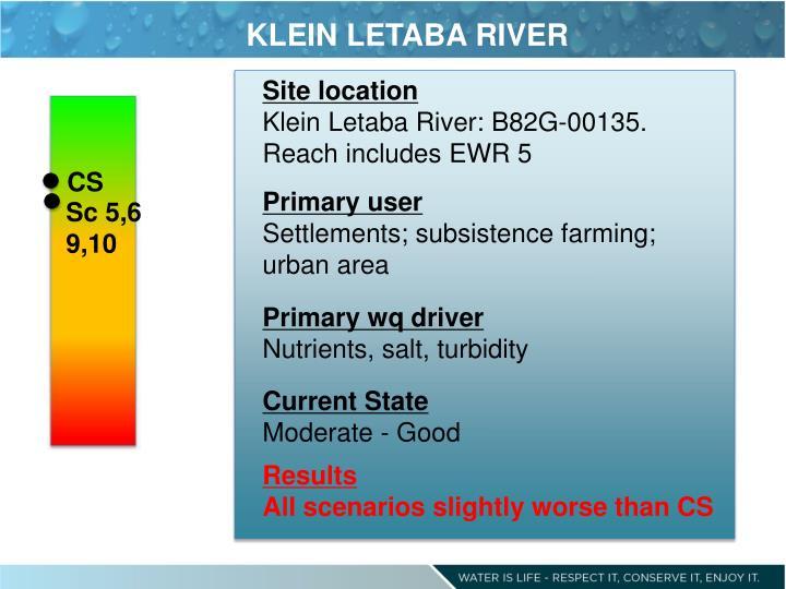 KLEIN LETABA RIVER