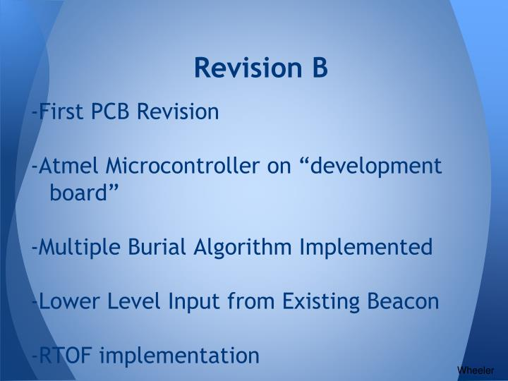 Revision B
