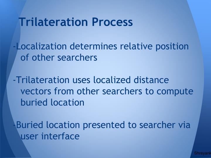 Trilateration Process