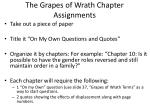the grapes of wrath chapter assignments1