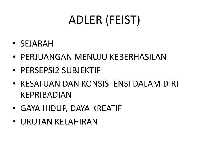 ADLER (FEIST)