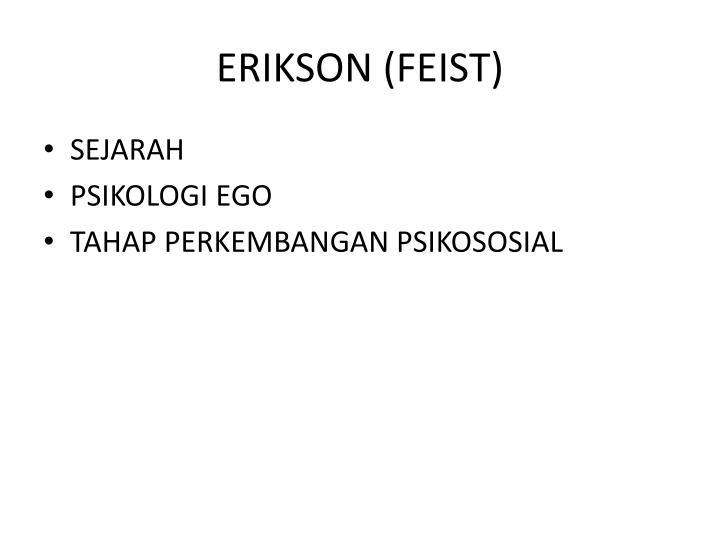 ERIKSON (FEIST)