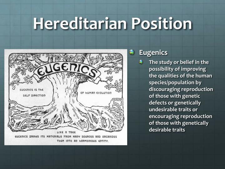 Hereditarian