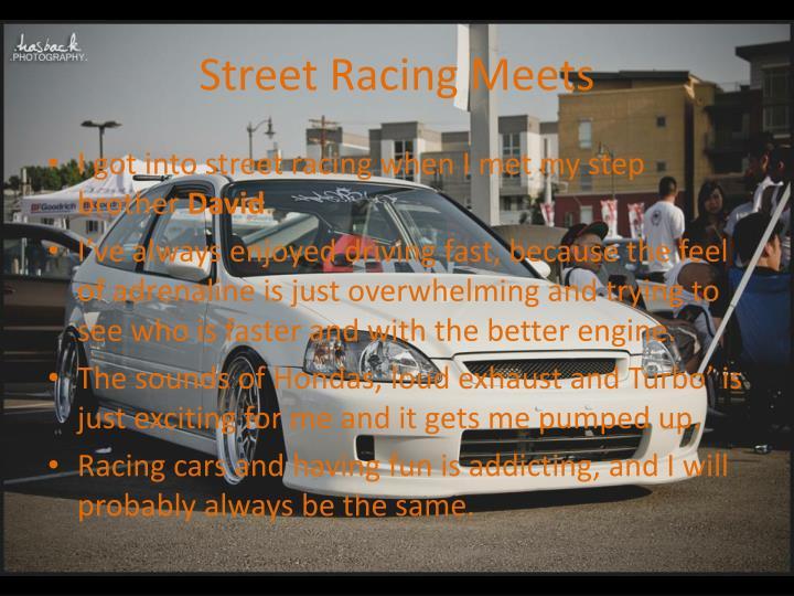 Street Racing Meets