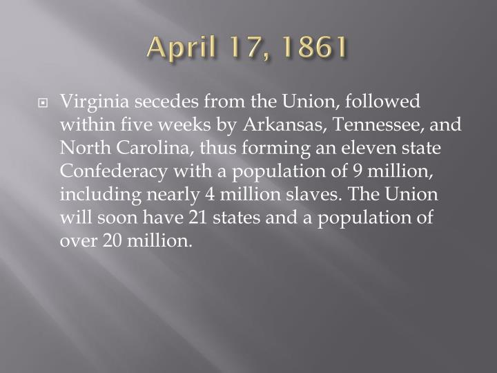 April 17, 1861