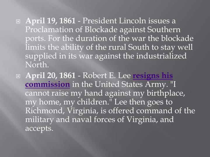 April 19, 1861