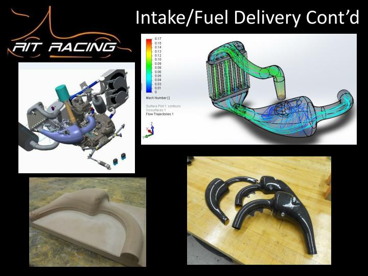 Intake/Fuel Delivery Cont'd