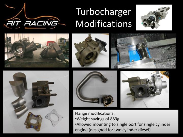 Turbocharger Modifications