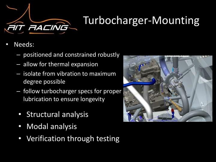 Turbocharger-Mounting