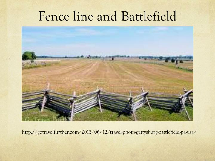 Fence line and Battlefield