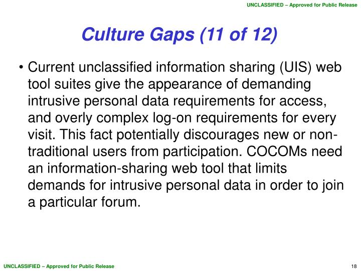 Culture Gaps (11 of 12)