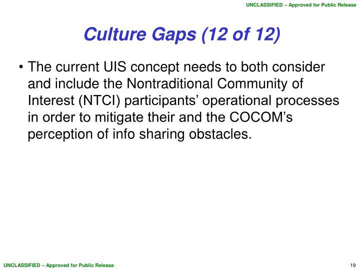 Culture Gaps (12 of 12)
