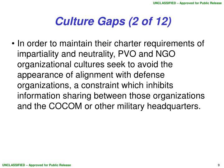 Culture Gaps (2 of 12)