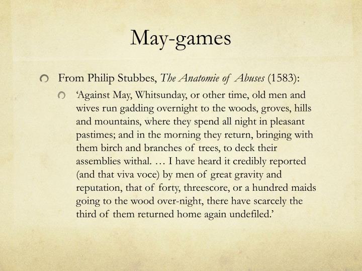 May-games