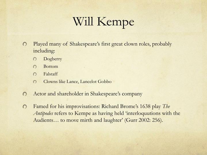 Will Kempe