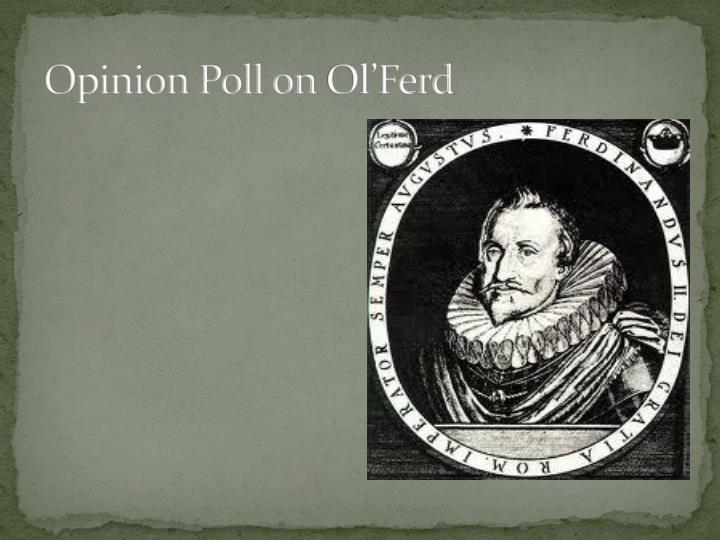 Opinion Poll on