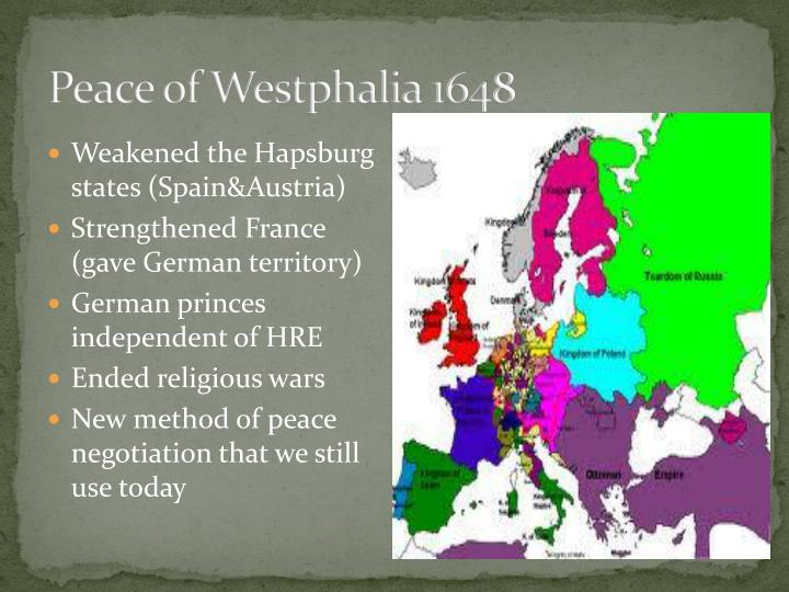 Peace of Westphalia 1648