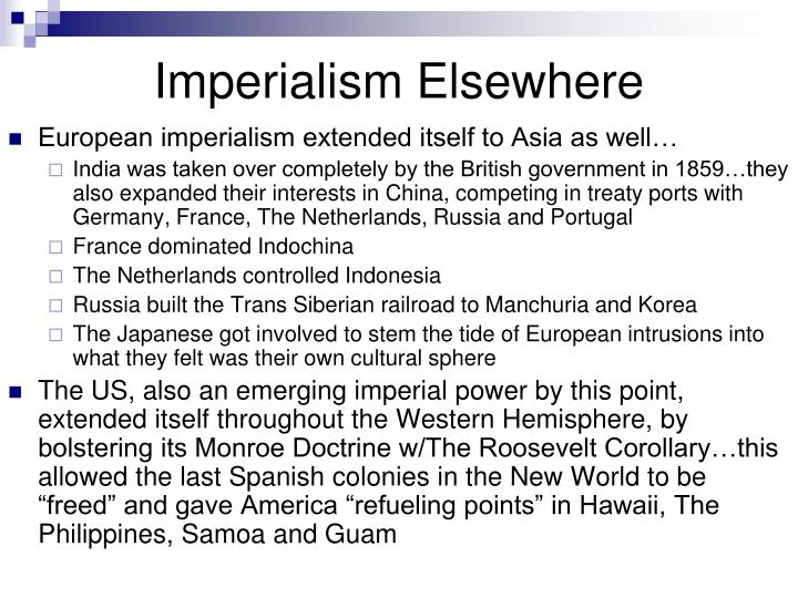 imperialism alliances and war Chapter 25 - imperialism, alliances, and war i expansion of european power and the new imperialism a the new imperialism b motives for the new imperialism: the economic interpretation.