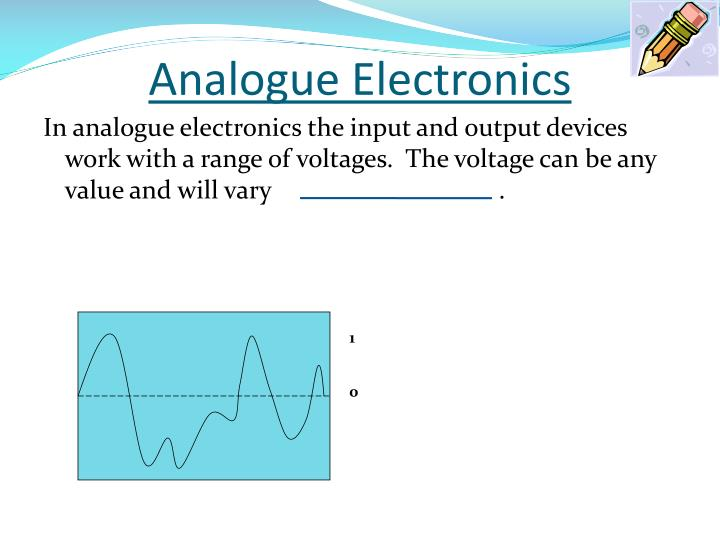 Analogue Electronics
