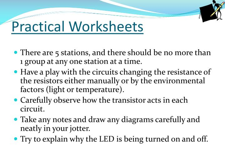Practical Worksheets