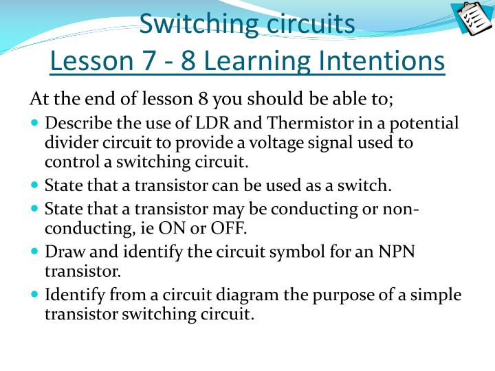 Switching circuits