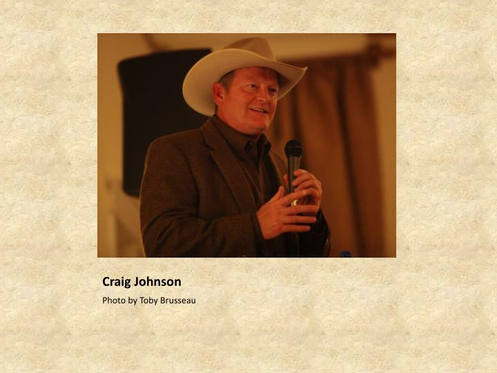 Craig Johnson