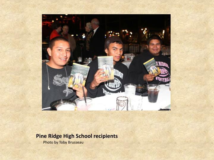 Pine Ridge High