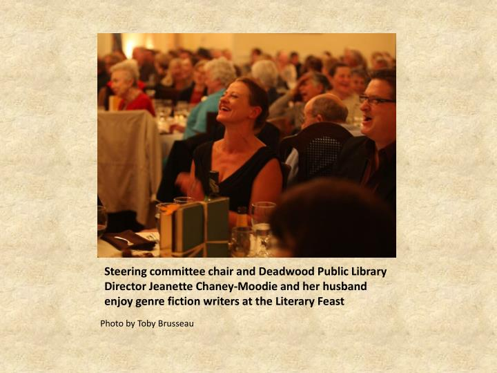 Steering committee chair and Deadwood Public Library Director Jeanette Chaney-