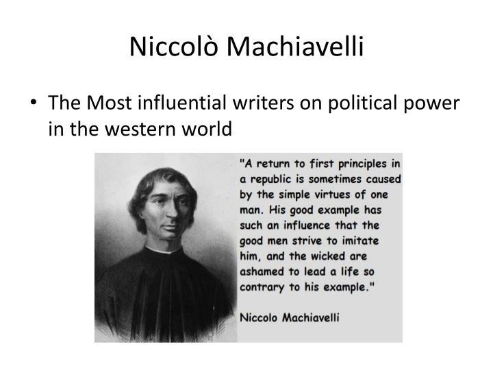 machiavellis view of human na Machiavelli was the inheritor of a tradition of not only for their rhetorical brilliance but also for their fundamentally different view of of human nature.