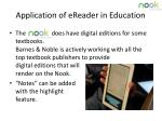 application of ereader in education