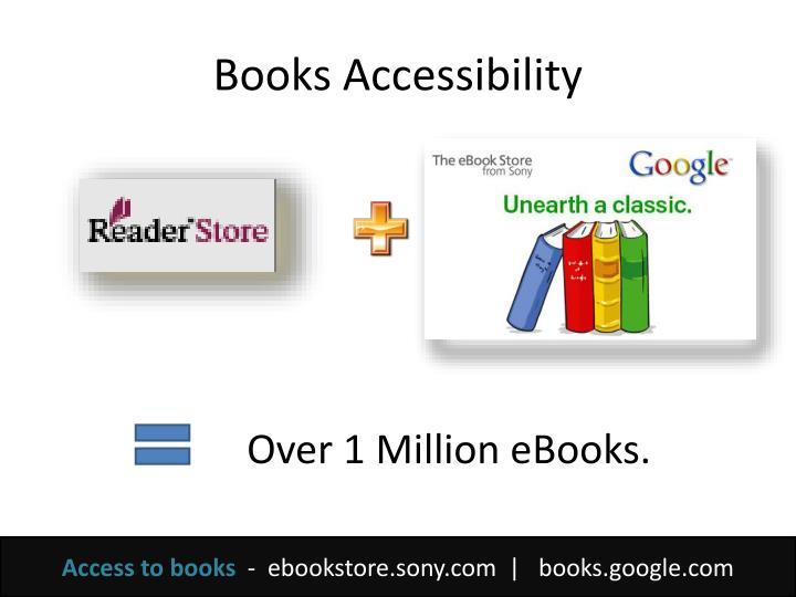 Books Accessibility