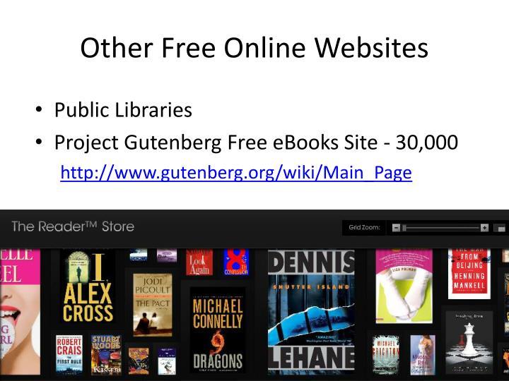 Other Free Online Websites