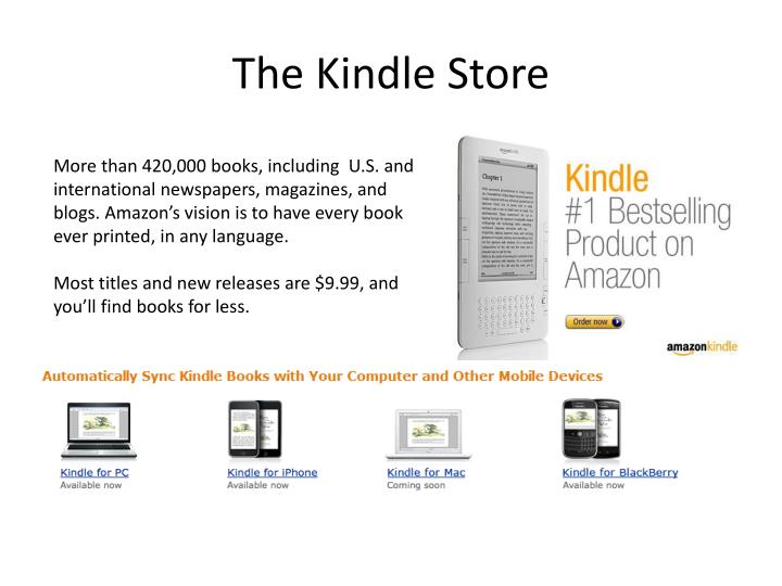 The Kindle Store