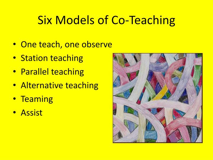 Six Models of Co-Teaching