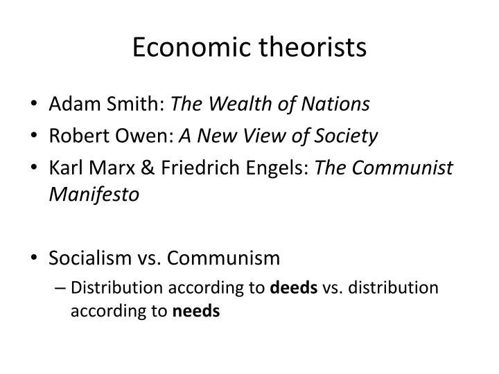 Economic theorists