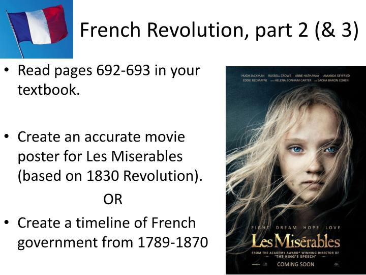 French Revolution, part 2 (& 3)