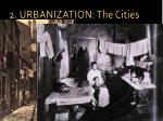 2 urbanization the cities